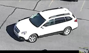 Vehicle sought after evacuations at Utah State Capitol, Thursday, Salt Lake City, Utah, Oct. 15, 2015 | Image courtesy Utah Department of Public Safety, St. George News