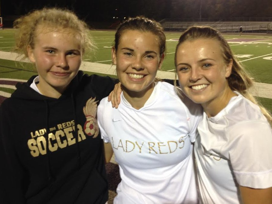 Cedar's (l to r) Ahley Jenkins, Nicole Jenkins and Whitney Yardley