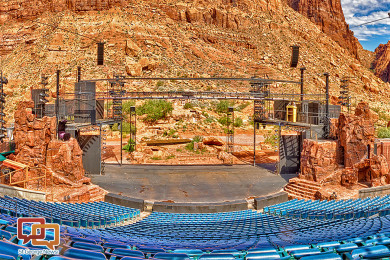 Tuacahn Amphitheatre at Tuacahn Center for the Arts, Ivins, Utah, date not specified   Stock image, St. George News