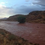 Fort Pearce Wash flash flooding, St. George, Utah, Aug. 18, 2014 | Photo by Jared Abel courtesy of Lisa Abel, St. George News