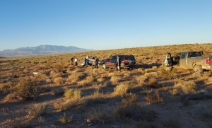 A St. George man is dead after his vehicle rolled while travelling on Mt. Trumbull Loop at milepost 3, south of River Road in St. George, Mohave County, Arizona, Oct. 12, 2015 | Photo courtesy of Mohave County Sheriff's Office, St. George News
