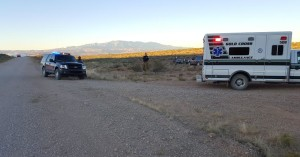 A St. George man is dead after his vehicle rolled while travelling on Mt. Trumbull Loop at milepost 3, just south of in St. George, Mohave County, Arizona, Oct. 12, 2015 | Photo courtesy of Mohave County Sheriff's Office, St. George News