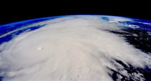 This image taken Friday, Oct. 23, 2015, from the International Space Station shows Hurricane Patricia. The Category 5 storm, the strongest recorded in the Western Hemisphere, barreled toward southwestern Mexico Friday.   Image from Scott Kelly/NASA via AP, St. George News