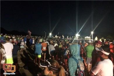 Starting line of the 39th Annual St. George Marathon, St. George, Utah, Oct. 3, 2015 | Photo by Hollie Reina, St. George News