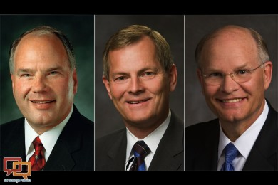 Elders Ronald A. Rasband, Gary E. Stevenson and Dale G. Renlund were each called to LDS Church's Quorum of Twelve Apostles following the deaths of three members of the Quorum earlier this year, Salt Lake City, Utah, Oct. 3, 2015 | Photo courtesy of The  Church of Jesus Christ of Latter-day Saints, St. George News
