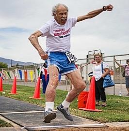 Julian Myers, Huntsman World Senior Games, St. George, Utah, October 2013 | Photo courtesy of Shawn Kirton, St. George News