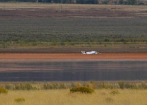 Two flight instructors with Southern Utah University's aviation program died in an airplane crash near Quichapa Lake, Cedar City, Utah, Oct. 5, 2015 | Photo by Mori Kessler, St. George News