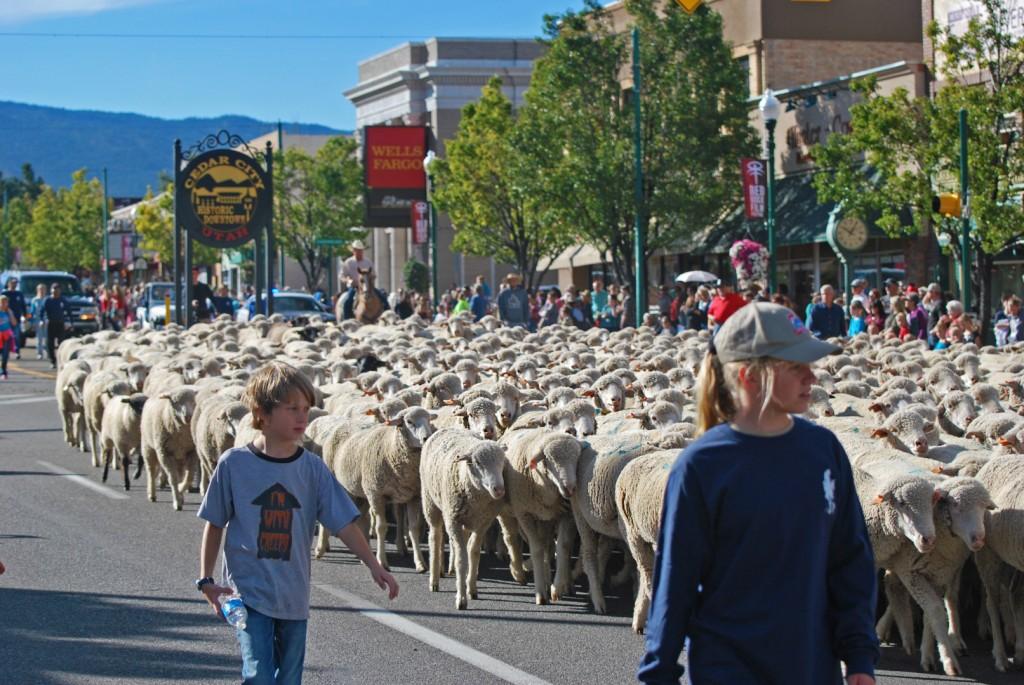 Cedar City Livestock & Heritage Festival, downtown Cedar City, Utah, Oct. 25, 2014 | Photo by Leanna Bergeron, St. George News