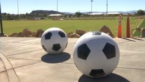Sullivan Virgin River Soccer Park, Washington City, Utah, Oct. 30, 2015 | Photo by Leanna Bergeron, St. George News