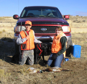 Those 17 years of age and younger will be the first hunters to take a pheasant in Utah this fall, location unspecified, Nov. 13, 2010 | Photo courtesy of Teresa Griffin, Utah Division of Wildlife Resources, St. George News