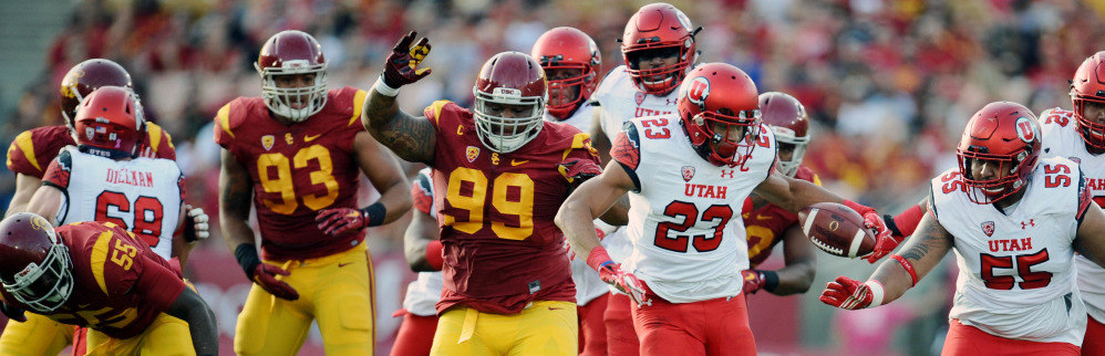 Utah vs. USC, Los Angeles, Calif., Oct 24, 2015 | Photo courtesy Utah Athletics