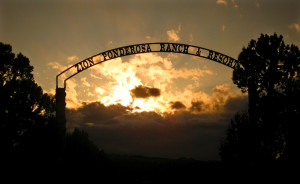 The entrance to Zion Ponderosa Ranch Resort, Mt. Carmel, Utah, date not specified | Photo courtesy of Zion Ponderosa Ranch Resort, St. George News
