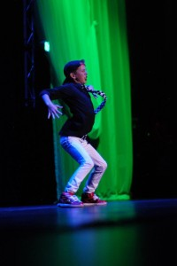 Jayden Wyson, Dixie's Got Talent 2014 winner, performs his hip-hop dance, winning over the crowd and the judges, St. George, Utah, 2014 | Photo courtesy of Dixie State University, St. George News