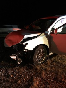 A four-vehicle collision on Interstate 15 near Arizona milepost 11.5 resulted in at least three people transported to thehospital, Mohave County, Arizona, Nov. 29, 2015   Photo courtesy of Arizona Department of Public Safety, St. George News