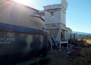 Atkins Molding Co. incurred nearly $50,000 on property damage thanks to a fire in the boiler system used to heat the building, 201 W 1045 North, Cedar City, Utah, Nov. 8, 2015 | Courtesy of Greg Orloski, St. George News