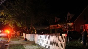 A possibly chimney fire in a home on the 300 South block of 500 East left the occupants unable to return home for the night, St. George, Utah, Nov. 28, 2015 | Photo by Mori Kessler, St. George News