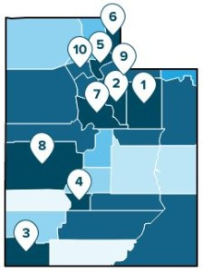 A study ranking areas with the most economy growth in the U.S. shows how Washington County places among other Utah counties for business growth