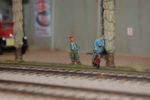 A meticulously crafted O scale model railroad setup belonging to Jim Harper is available for viewing during the Model Train Home Tour, Santa Clara, Utah, Nov. 13, 2015 | Photo by Hollie Reina, St. George News