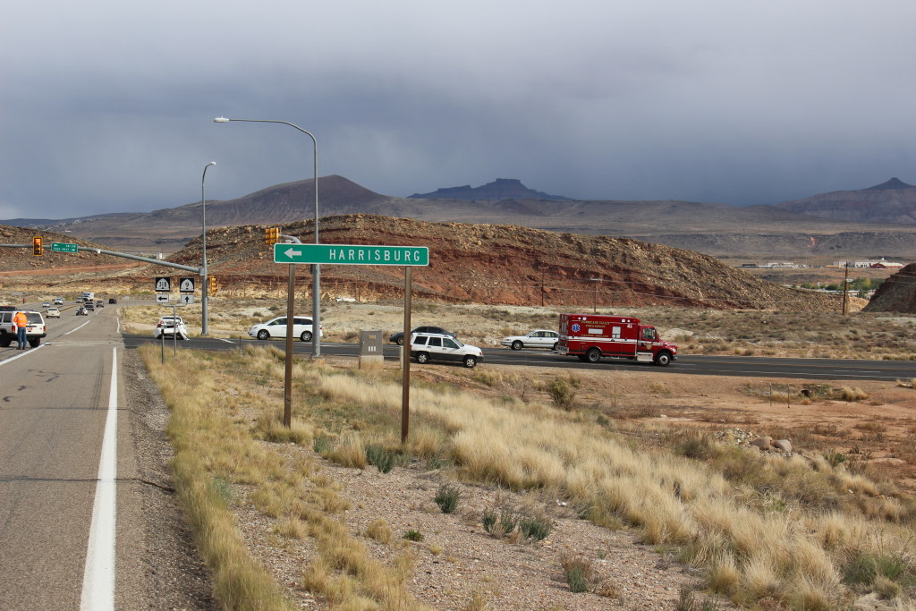 Abrupt Lane Change Leads To 3 Car Accident St George News