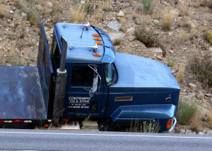 Man taken to hospital after diving out of truck with no brakes on state Route 14 just outside of Cedar City, Utah, Nov. 2, 2015 | Photo by Carin Miller, St. George News