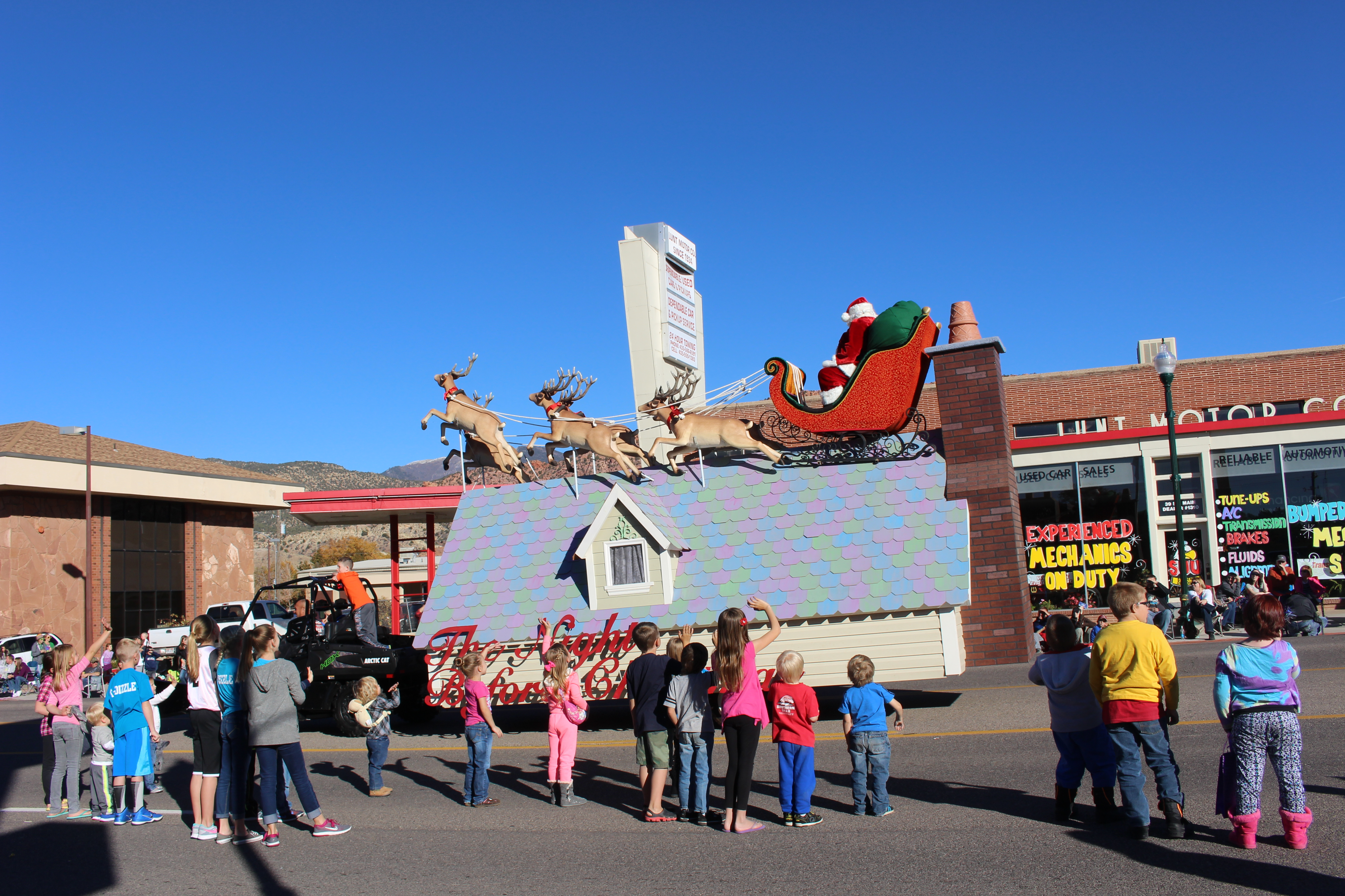 Santa Claus in the Storybook Parade, St. George News