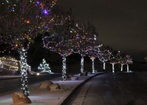 The 5th annual Christmas Lane storybook display in the 1200 N. 400 East area, Cedar City, Utah, Nov. 17, 2015 | Photo by Carin Miller, St. George News