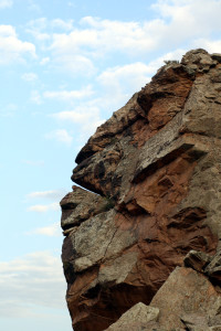 Petroglyphs and view at Parowan Gap, Parowan, Utah, undated | Photo courtesy of Cedar City Brian Head Tourism Bureau, St. George News