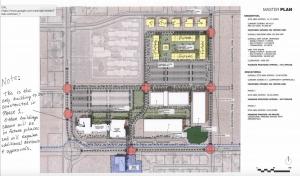 Rocky Vista University master concept plan   Image courtesy of Ivins City, St. George News