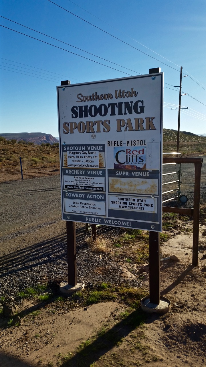 The Shooting Sports Park is closed pending a safety investigation, Hurricane, Utah, Oct. 28, 2015 | Photo by Julie Applegate, St. George News