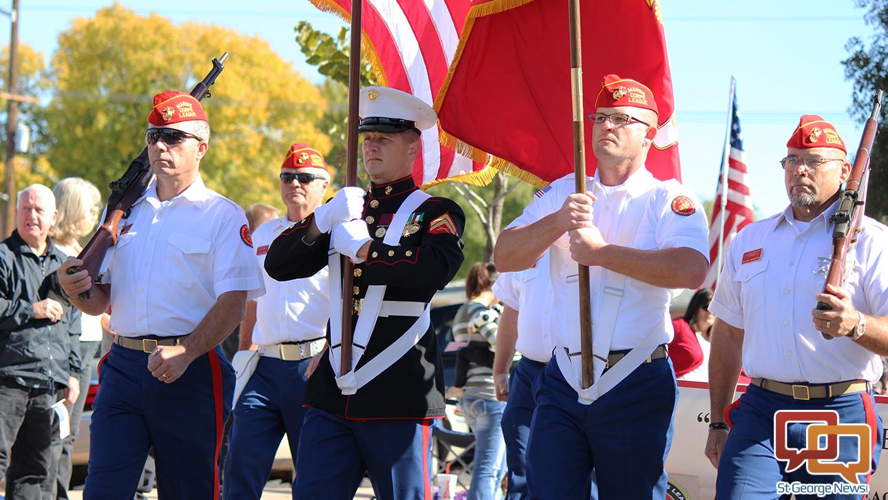 The Washington City Veterans Day parade, Washington City, Utah, Nov. 11, 2015 | Photo by Devan Chavez, St. George News