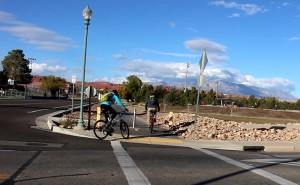 Cyclists using the city's trail system, St. George, Utah, Nov. 24, 2015 | Photo by Mori Kessler, St. George News