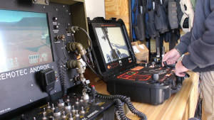 The controls for the robots used by the Washington County bomb squad, St. George, Utah, Nov. 12, 2015 | Photo by Mori Kessler, St. George News