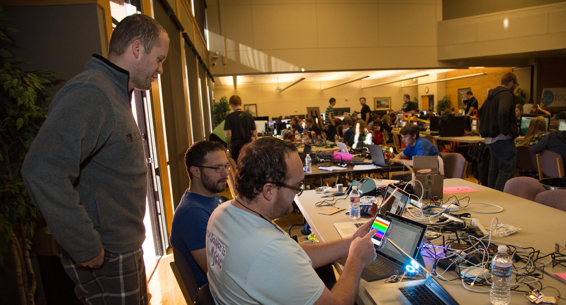 Novice, collegiate and professional programmers and designers participate in the 2015 Code Camp at Dixie State University's Gardner Student Center. St. George, Utah, Nov. 13, 2015 | Photo courtesy of Dixie State University, St. George News