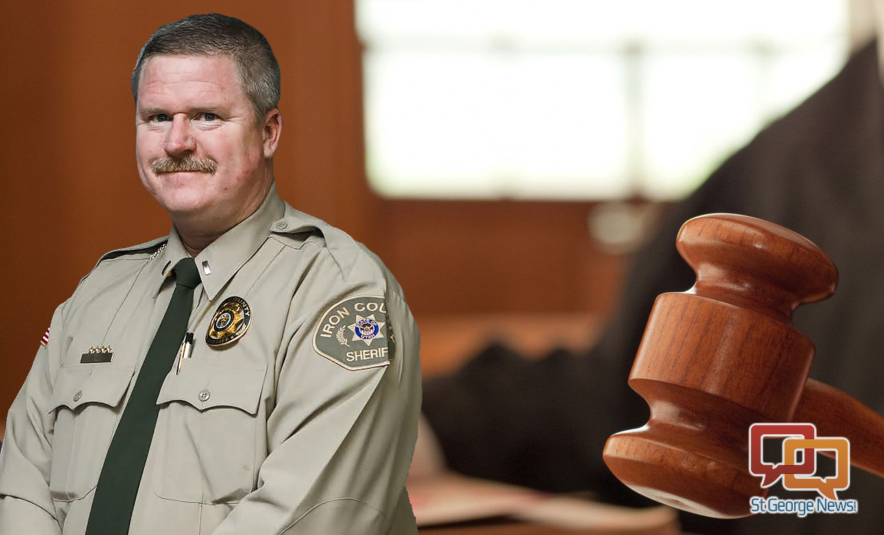 Iron County Commissioners withdrew their appeal of Iron County sheriff's Lt. Jody Edwards' reinstatement Wednesday and filed motion for dismissal of the case Thursday, Nov. 19, 2015, in 5th District Court, Cedar City, Utah | Composite image, St. George News