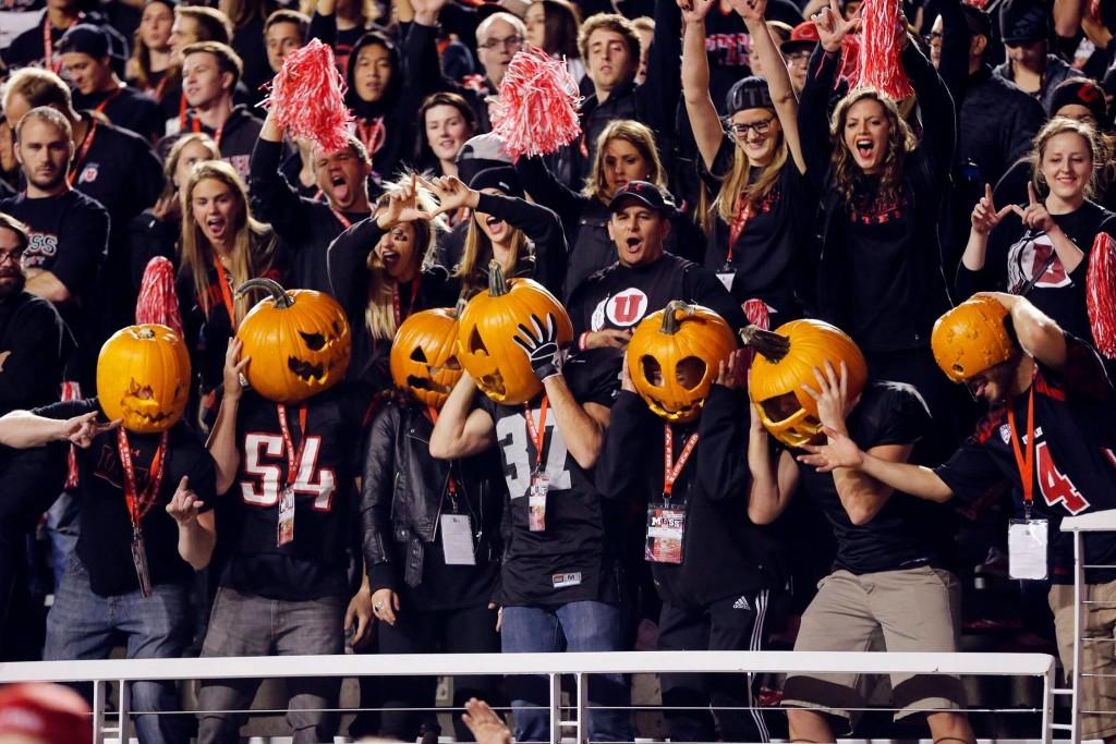 Utah vs. Oregon, Salt Lake City, Utah, Oct. 31, 2015 | AP Photo