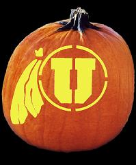 pumpkin-carving-patterns-utah-utes