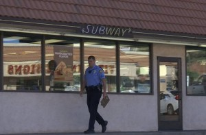 A man with a kinfe robbed the Subway on North Bluff Street Wednesday morning. St. George, Utah, Nov. 18, 2015 | Photo by Sheldon Demke, St. George News