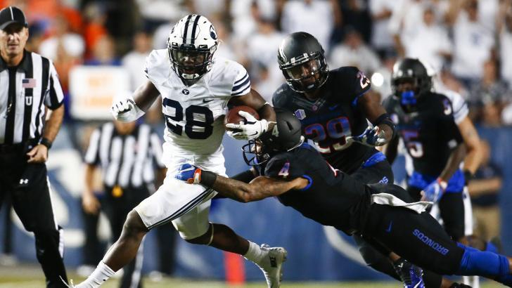 Having RB Adam Hine back will help. | AP Photo