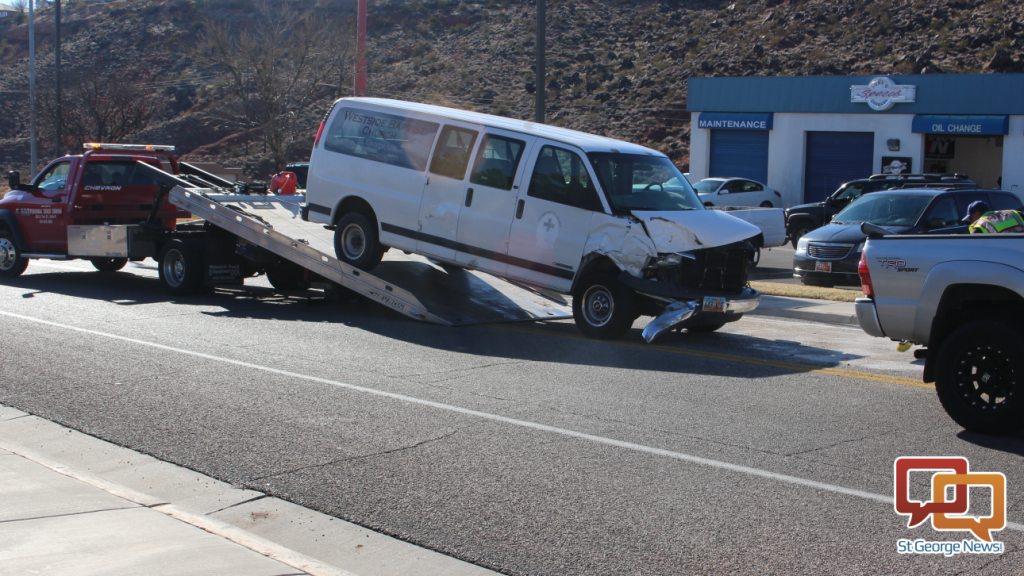 News Short Unsafe U Turn Cited For Collision With Van