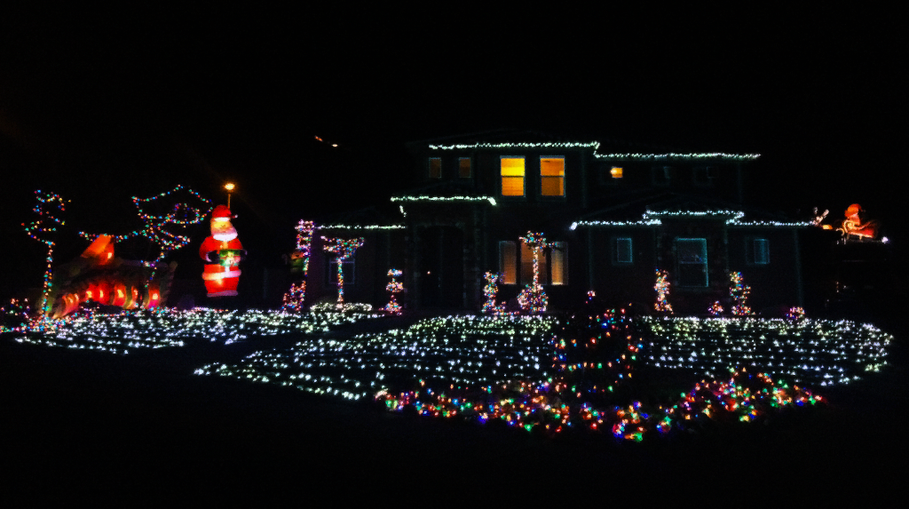 Photo of home on 2038 Great Basin Drive, December 6, 2015 | Photo by Ali Hill, St. George News