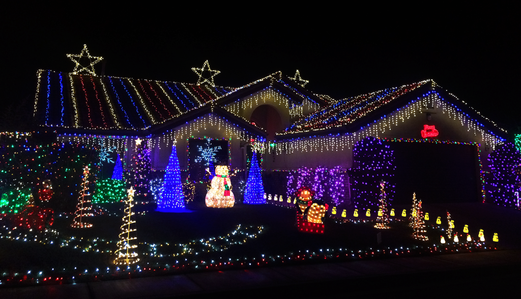 Photo of home on 545 Valley View Drive, December 6, 2015 | Photo by Ali Hill, St. George News
