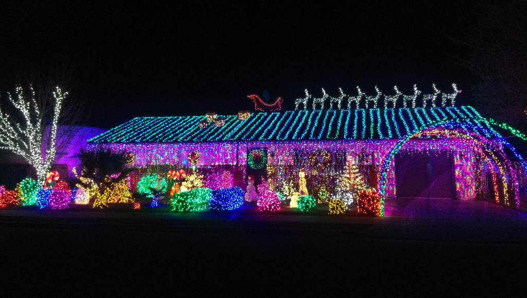 Photo of home on 745 Chaparral Drive, December 6, 2015 | Photo by Ali Hill, St. George News
