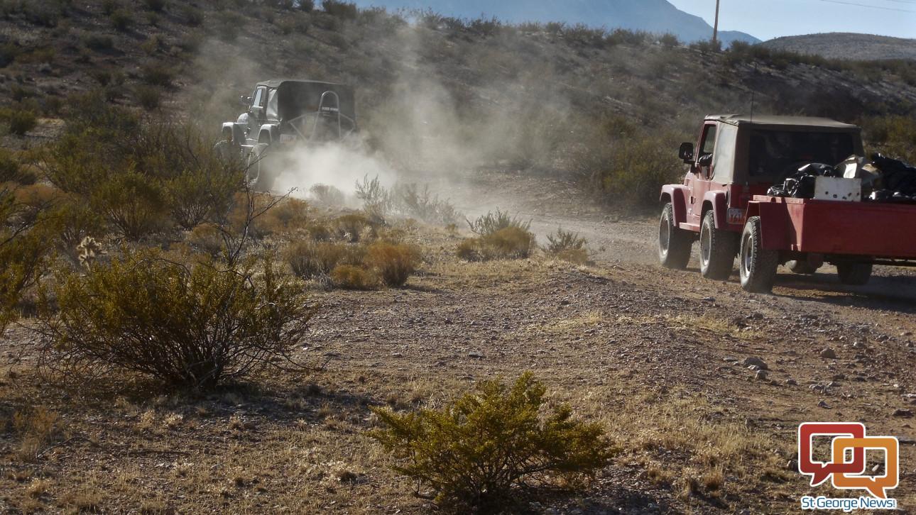 Drag Haul Carry Desert Rats Clean Up Public Lands Blm