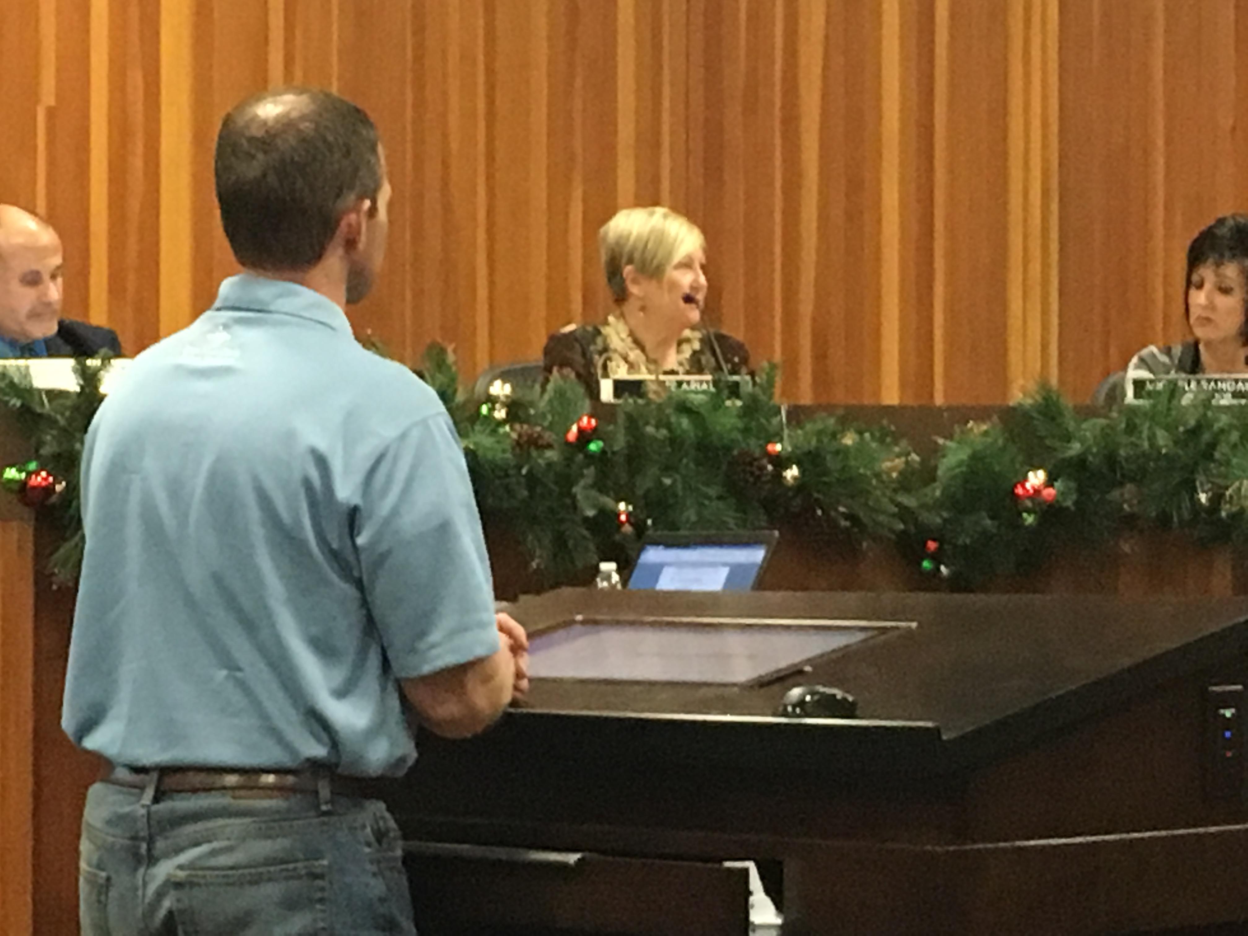 St. George City Council meeting, St. George, Utah, Dec. 3, 2015 | Photo by Tracie Sullivan, St. George News