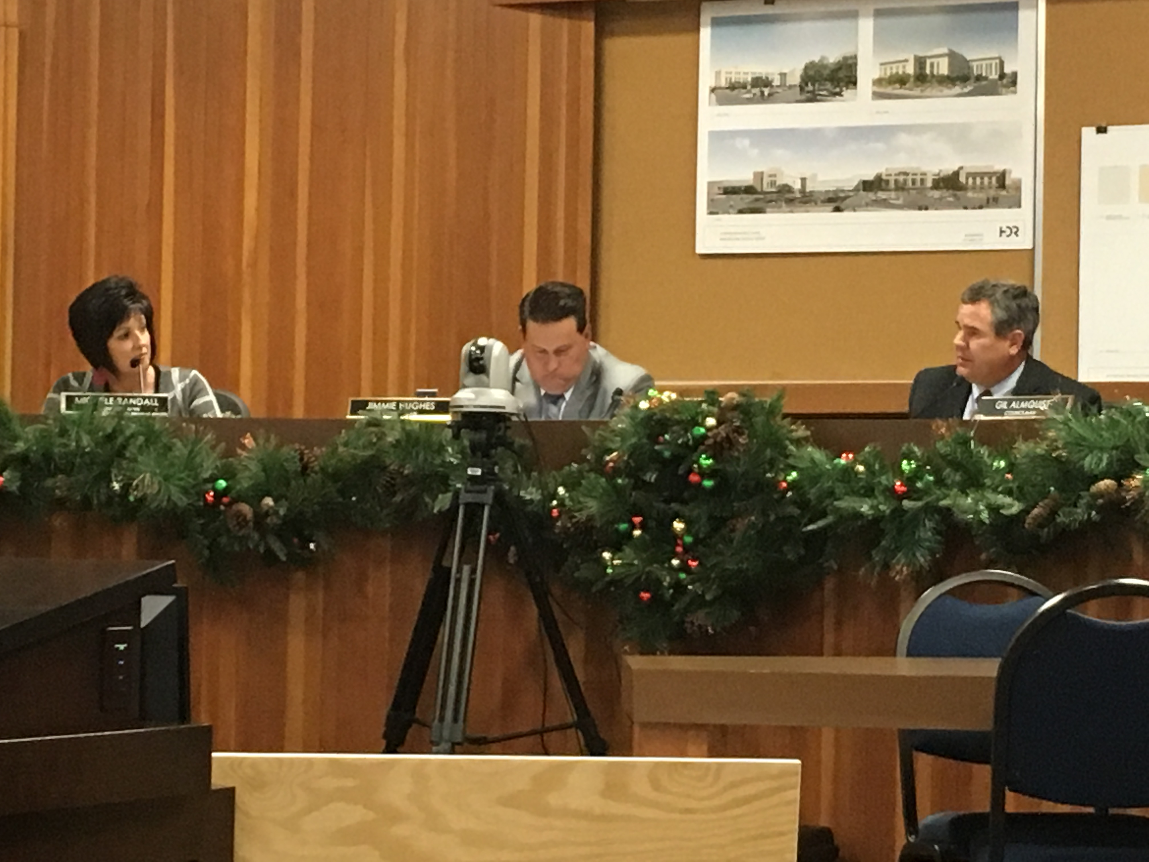 St. George City Council. Council chambers, St. George, Utah, Dec. 3, 2015 | Photo by Tracie Sullivan, St. George News