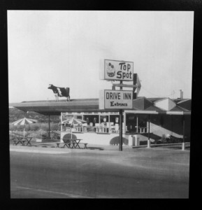Top Spot before the remodel that added on the dining room and arcade, Top Spot, Cedar City, Utah, date unknown | Courtesy of Craig Barton, St. George News