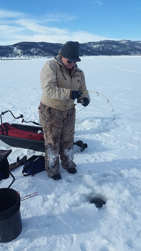 Deadline new year s eve for friendly competition at world for Ice fishing derby