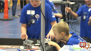 Elementary and middle school students compete in First Lego League scrimmage tournament, preparing for state championship in January. Dixie State University, St. George, Utah, Dec. 12, 2015 | Photo by Austin Peck, St. George News