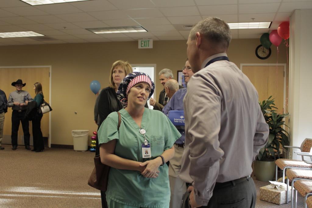 Cedar City Hospital's administrator is leaving