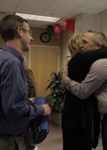 The community gathered to bid Cedar City Hospital Administrator and CEO Jason Wilson a fond farewell before he heads off to Administrate over American Fork Hospital, Cedar City Hospital, Cedar City, Utah, Dec. 12, 2015 | Photo taken by Carin Miller, St. George News